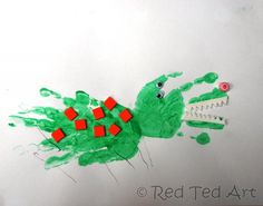 handprint crafts toddlers