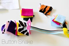 button snake. Fine motor.#Repin By:Pinterest++ for iPad#