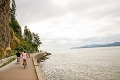 Biking trails in Vancouver