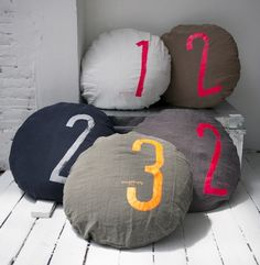 beds, floors, numbers, sports shirts, philosophy, bed linens, bean bags, pillows, floor cushions