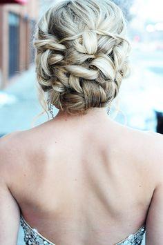 hair down, bridesmaid hair, braid, long hair, prom hairstyles