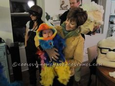 Cool Homemade Baby Snipe Costume from the movie UP!... This website is the Pinterest of costumes