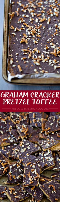 Graham Cracker Pretz