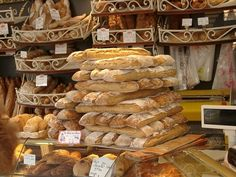 Traveling and finding bread shops is the best. Nothing beats the smell and taste of fresh baked bread!