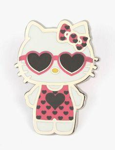 Cool #loveheart shades #HelloKitty!