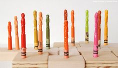 Diem Chau Crayon Sculptures | Abduzeedo | Graphic Design Inspiration and Photoshop Tutorials
