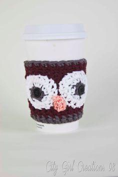 Owl Coffee cozy