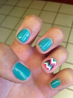 #gelnails #chevronnails #gelish #nails #nailart