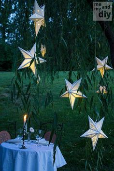 DIY Paper Star Lanterns DIY Origami DIY Craft