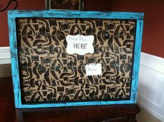 Old Decorative WindowPicture Frame by MadnessMomma on Etsy, $45.00
