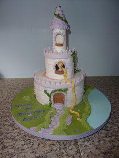 Rapunzel cake | Flickr - Photo Sharing!