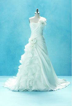disney ariel inspired wedding dress
