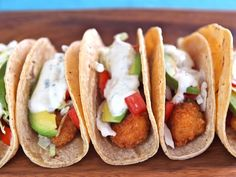 Crispy Panko Fish Tacos; the panko crumbs will give these a light and crispy texture. Will definitely be making these!