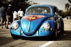 Superman vw Beetle