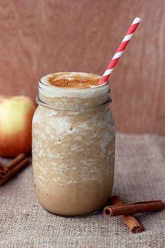 POST-WORKOUT DRINK: PALEO APPLE PIE SMOOTHIE RECIPE | Paleo Recipes for the Paleo Diet #veggie #diet #recipes #food paleoaholic.com