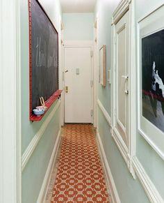 smart idea for an entryway