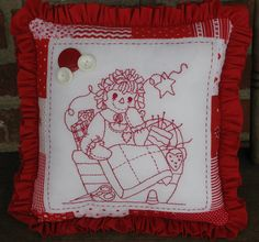 Raggedy Ann Pillow