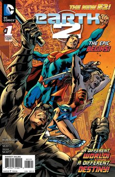Comic Book Review: 'Earth 2′ #1