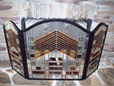 Mission Style Fireplace Screen - by genekelly. Delphi Artist Gallery