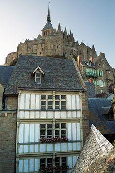 Mont Saint Michel, house