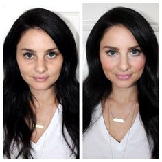 The basics of highlighting and contouring in simple steps, plus all the products you need. #thebeautymarkgirls
