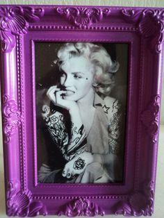 Marilyn Monroe tattooed by clopie on Etsy, $32.00