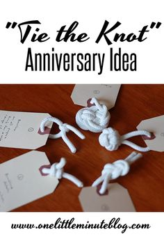 CUTE anniversary idea!