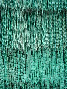strands of turquoise