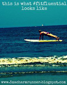 SUP #plankaday in Tybee Island, GA... check!