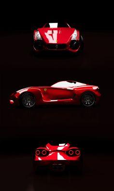 Ferrari Fx1 RR by Marin Myftiu, via Behance
