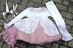 Chasing Fireflies Girls Unicorn Costume Size 6 EARINGS & NECKLACE (5PC) #unicorn