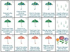 Free! Spring Showers Following Directions... Following Directions Game that targets following simple 1-/2-/3-step directions. 48 cards!