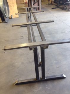 Bases On Pinterest Metal Tables Steel Table And Trestle