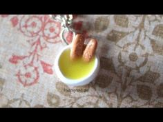 DIY Fish Fingers and Custard Bowl Polymer Clay Charm Necklace Tutorial {Doctor Who} - YouTube