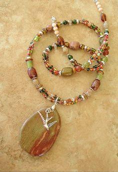 Boho Southwest Necklace Cowgirl Necklace Bohemian by BohoStyleMe