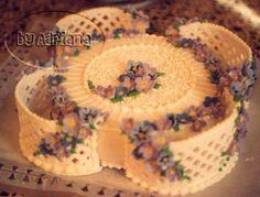 Pastillaje y flores de glasé