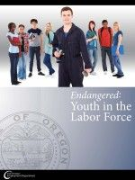 Young workers in Oregon are an 'endangered species,' new state report claims (Oregonian, 5/29/2014).  Endangered : youth in the labor force by (2014) Oregon Employment Department.