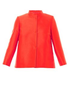 Max Mara Red Eros Jacket - silk