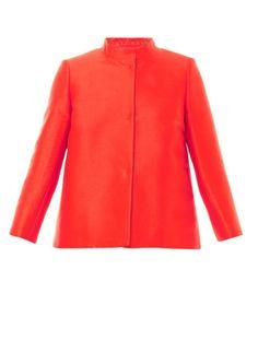 Max Mara Red Eros Jacket - silk