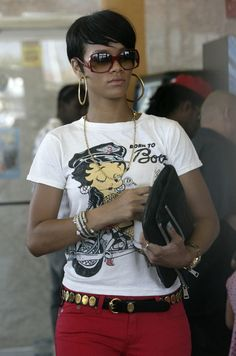 rihanna short hair | Rihanna's New Short Hair Styles Pictures Gallery - Hair Cuts Wiki ...