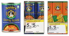 Annie's Ravoli or Mac & Cheese, Only $0.75 Plus Free Lunch Sack at Target!