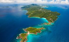 A breathtaking shot over the West End of St. Thomas, one of the US Virgin Islands. (From: Photos: Insiders' Guide to the Caribbean) BudgetTravel.com