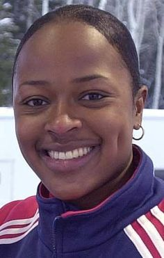 At the 2002 Winter Olympics, Vonetta Flowers won the gold medal in the two-woman bobsled, becoming the first black person to win a gold medal in Winter Olympic history. games, dimples, african americans, vonetta flower, winter olympics, daughters, alabama, flowers, black histori