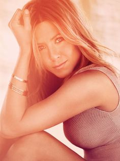 Jenifer Aniston photographed by Alexi Lubomirski for Bazaar UK
