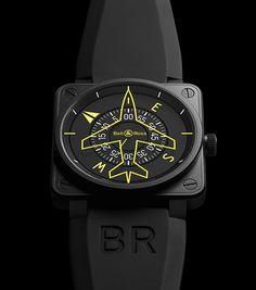 Bell & Ross Aviation Watches #Aviation #Bell & Ross
