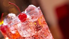 Make it a mocktail. Try a Shirley Temple mocktail to stay away from alcohol in the heat.