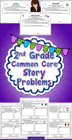 The steps in these math story problems were created for the purpose of making sense of a problem, instead of using tricks and key words to solve a problem. Students must understand what the problem is asking them to do before solving it.