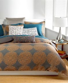 Bar III Bedding, Graffiti Dot Collection - Bedding Collections - Bed & Bath - Macy's