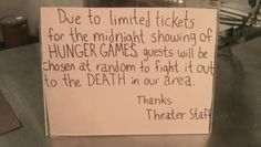 hunger games problems, the hunger, movie theaters, funny pics, comic, funny pictures, joke, favor, hunger games humor