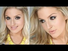 ▶ One Brand Tutorial ♡ Simple Smokey Eye ♡ Maybelline The Nudes Palette! - YouTube
